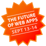 'The Future Of Web Apps Summit' button